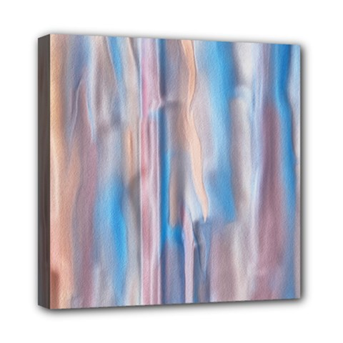 Vertical Abstract Contemporary Mini Canvas 8  x 8