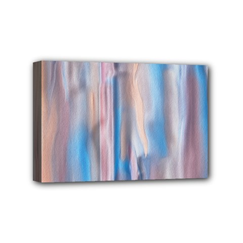 Vertical Abstract Contemporary Mini Canvas 6  x 4