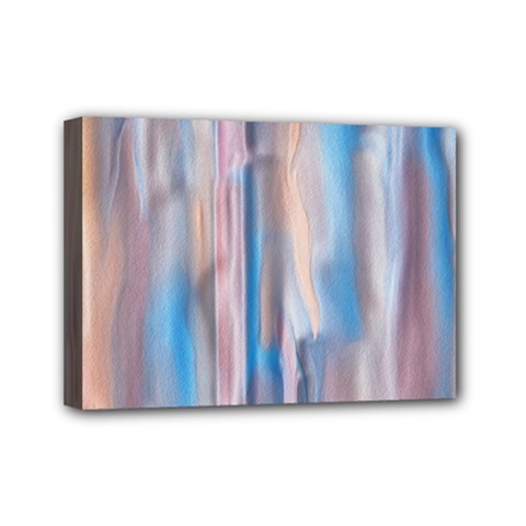 Vertical Abstract Contemporary Mini Canvas 7  x 5