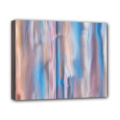 Vertical Abstract Contemporary Canvas 10  x 8