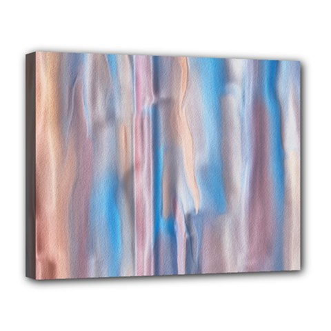 Vertical Abstract Contemporary Canvas 14  x 11