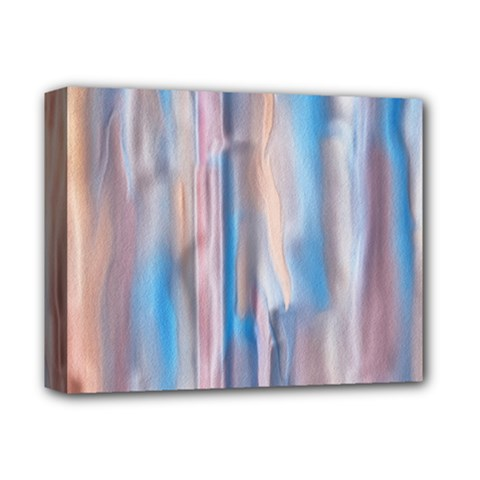 Vertical Abstract Contemporary Deluxe Canvas 14  x 11