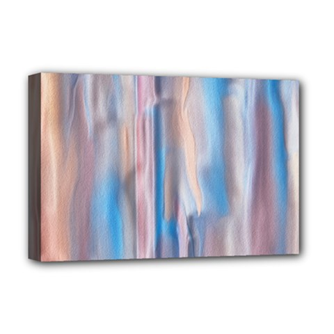 Vertical Abstract Contemporary Deluxe Canvas 18  x 12