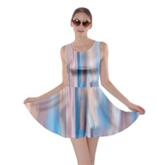 Vertical Abstract Contemporary Skater Dress