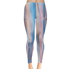 Vertical Abstract Contemporary Leggings