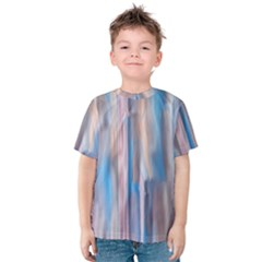 Vertical Abstract Contemporary Kids  Cotton Tee