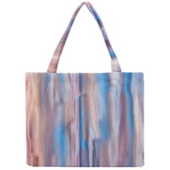 Vertical Abstract Contemporary Mini Tote Bag