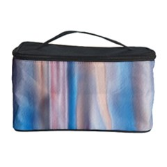 Vertical Abstract Contemporary Cosmetic Storage Case