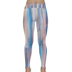 Vertical Abstract Contemporary Classic Yoga Leggings