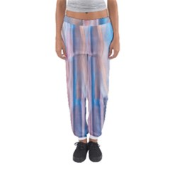 Vertical Abstract Contemporary Women s Jogger Sweatpants
