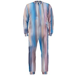 Vertical Abstract Contemporary OnePiece Jumpsuit (Men)