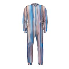 Vertical Abstract Contemporary OnePiece Jumpsuit (Kids)