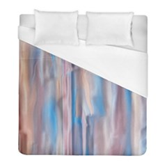 Vertical Abstract Contemporary Duvet Cover (Full/ Double Size)