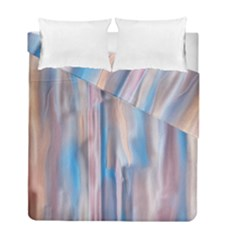 Vertical Abstract Contemporary Duvet Cover Double Side (Full/ Double Size)