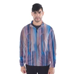 Vertical Abstract Contemporary Wind Breaker (Men)