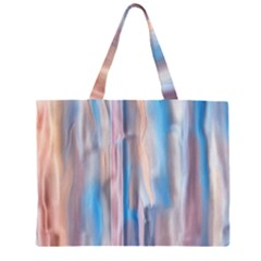 Vertical Abstract Contemporary Large Tote Bag