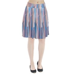 Vertical Abstract Contemporary Pleated Skirt