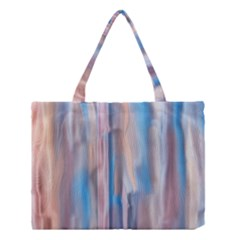 Vertical Abstract Contemporary Medium Tote Bag