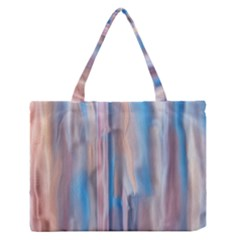 Vertical Abstract Contemporary Medium Zipper Tote Bag