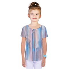 Vertical Abstract Contemporary Kids  One Piece Tee