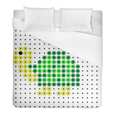 Colored Turtle Duvet Cover (full/ Double Size)