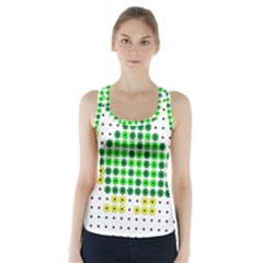 Colored Turtle Racer Back Sports Top