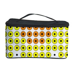 Colored Flowers Cosmetic Storage Case