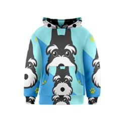 Face Dog Kids  Pullover Hoodie
