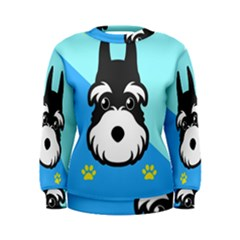 Face Dog Women s Sweatshirt