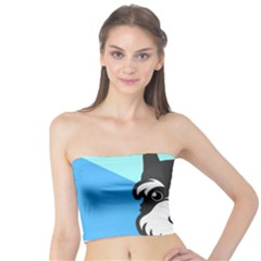 Face Dog Tube Top