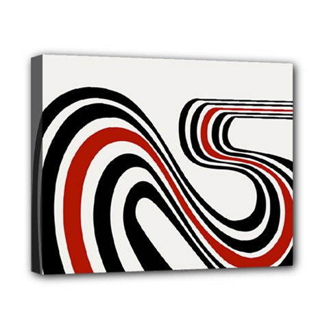 Curving, White Background Canvas 10  x 8