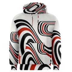 Curving, White Background Men s Pullover Hoodie