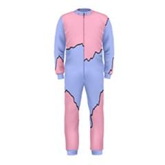 Girls Pink OnePiece Jumpsuit (Kids)