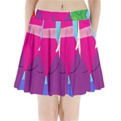 Initial Thumbnails Pleated Mini Skirt