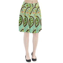 Hilly Roads Pleated Skirt