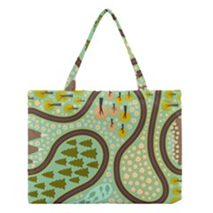 Hilly Roads Medium Tote Bag