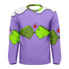 Kissing Fish Men s Long Sleeve Tee