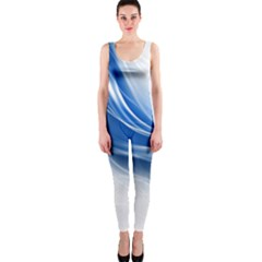 Light Waves Blue OnePiece Catsuit