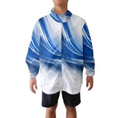 Light Waves Blue Wind Breaker (Kids)