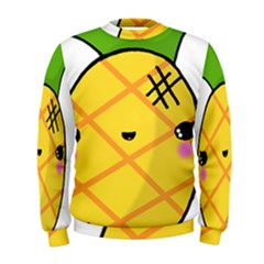 Kawaii Pineapple Men s Sweatshirt