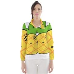 Kawaii Pineapple Wind Breaker (Women)