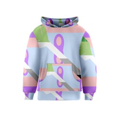Noninsexual Aromantic Combo Flag Kids  Pullover Hoodie