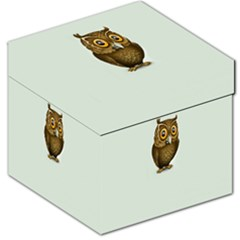 Owl Storage Stool 12