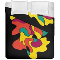 Colorful Spot Duvet Cover Double Side (california King Size)