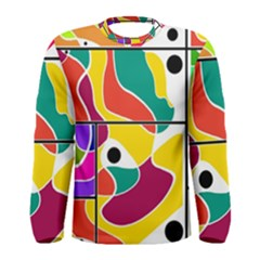 Colorful Windows  Men s Long Sleeve Tee