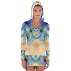 A Guardian Angel by WBK:  Women s Long Sleeve Hooded T-shirt