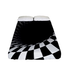Optical Illusions Fitted Sheet (full/ Double Size)