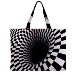 Optical Illusions Zipper Mini Tote Bag