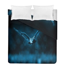 Night Owl Wide Duvet Cover Double Side (full/ Double Size)