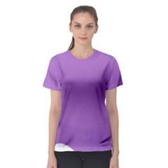 Purple Women s Sport Mesh Tee